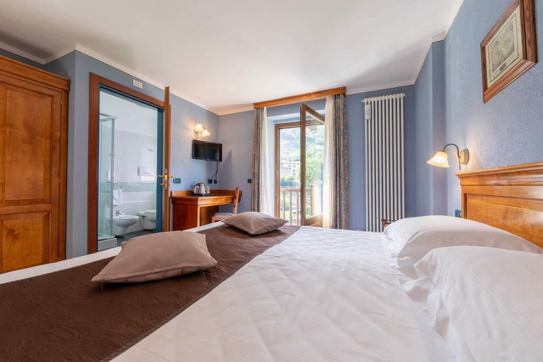 Hotel Glacier - Camera matrimoniale
